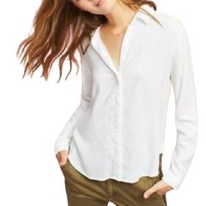 Cloth & Stone white button down blouse Size: Sm